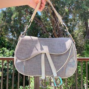 Authentic Vintage Christian Dior Double Saddle Bag